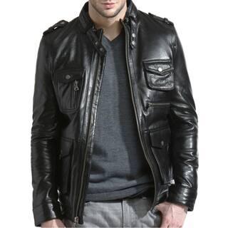 Men's Ultimate Leather Moto Jacket