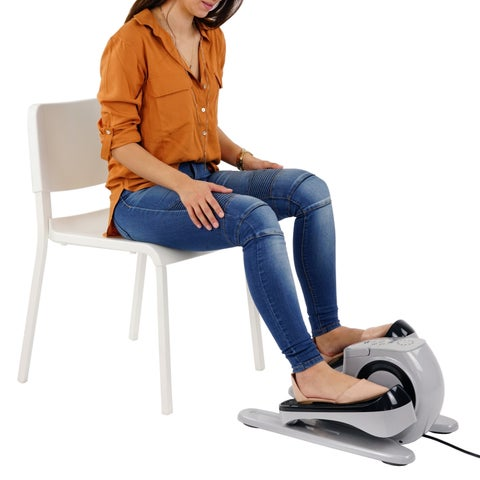 Sunny Health and Fitness SF-E3626 Motorized Under-desk Elliptical