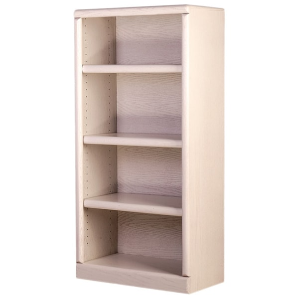 shop forest designs wood 24 inch wide x 48 inch high x13 inch deep bullnose bookcase free. Black Bedroom Furniture Sets. Home Design Ideas
