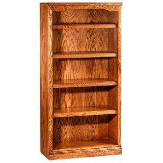 Forest Designs Solid Wood 30-inch Wide x 60-inch High x 13-inch Deep Bookcase