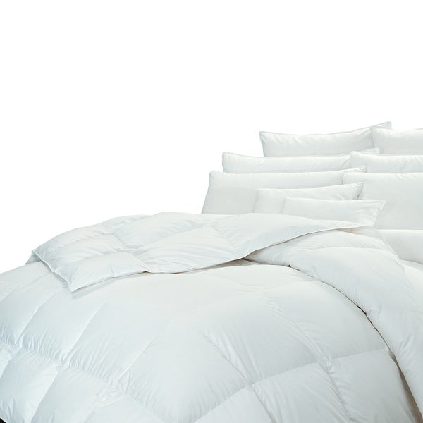 Highland Feather Cancun White Goose Down Comforter