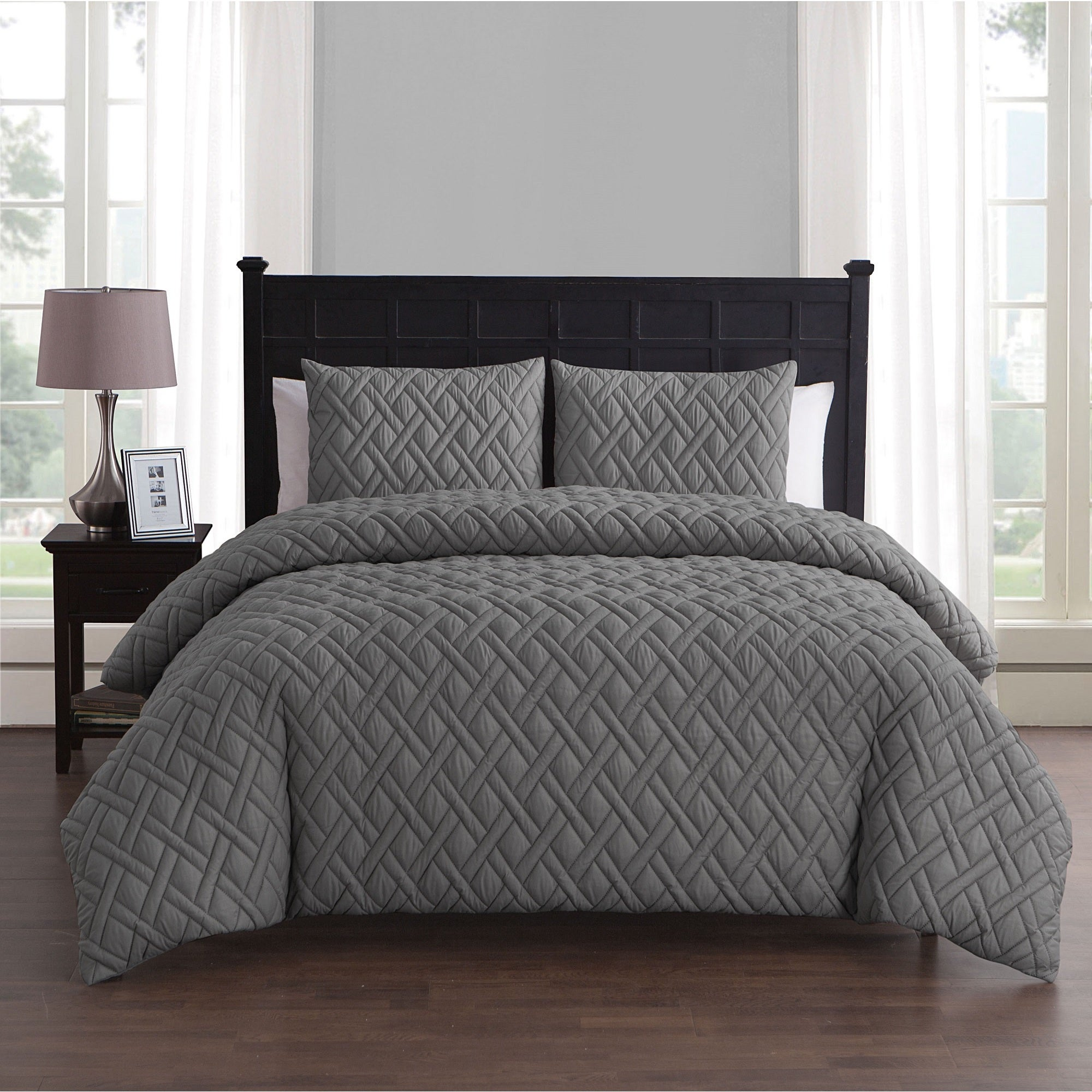 bedding overstock shipping on duvet piper orders city free scene com set bed over cover product grey bath