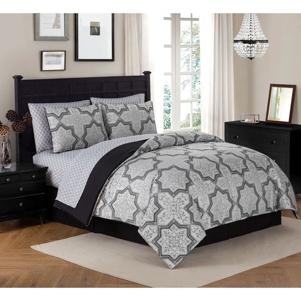 Avondale Manor Messina 8-piece Bed in a Bag Set