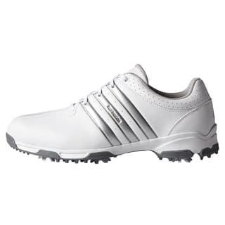 Adidas Men's 360 Traxion White/ Silver Metallic Golf Shoes|https://ak1.ostkcdn.com/images/products/13470759/P20157991.jpg?impolicy=medium
