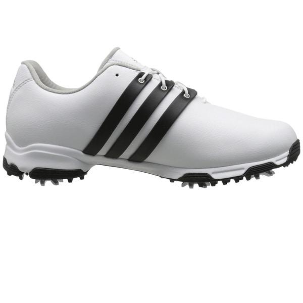 Adidas Men's Pure TRX White/ Core Black/ White Golf Shoes