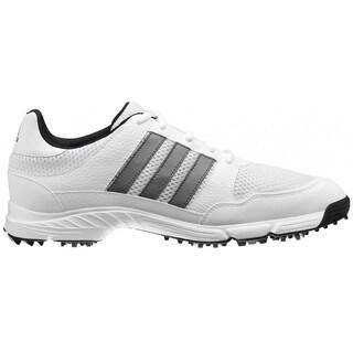 Adidas Men's Tech Response 4.0 White/ White/ Dark Silver Metallic Golf Shoes