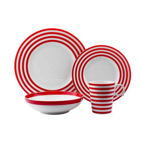 Red Vanilla Freshness Lines Red 16pc set