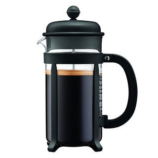 Bodum 8 Cup Java French Press Coffee Maker, 34 oz, Black