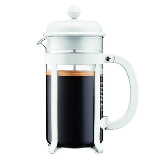 Bodum 8 Cup Java French Press Coffee Maker, 34 oz, White