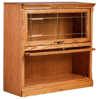 Forest Designs Traditional Wood 36 inches Wide x 35 inches High x 13 inches Deep 2-door Legal Bookcase