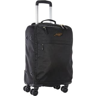 A.Saks Lightweight Black Ballistic Nylon 22-inch Carry-On Spinner Upright Suitcase|https://ak1.ostkcdn.com/images/products/13470852/P20158122.jpg?impolicy=medium