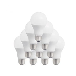 Pursonic A19-09SP1 SW 60W Soft White LED 2700K Light Bulb (10 Pack)