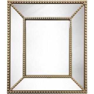 Wee's Beyond Bevel Beaded 15-feet x 13-feet Mirror