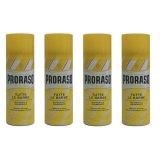 Proraso Nourishing & Regenerating Macadamia Oil Yellow 14-ounce Shaving Foam