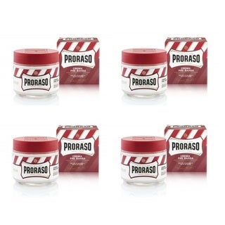 Proraso Moisturizing Nourishing with Sandalwood Oil Shea Butter 3.6-ounce Pre-Shave Cream