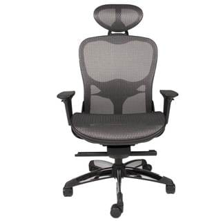 Modern Life Bruno Black Mesh Office Chair
