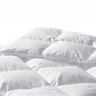 Highland Feather Santa Barbara White Goose Down Comforter