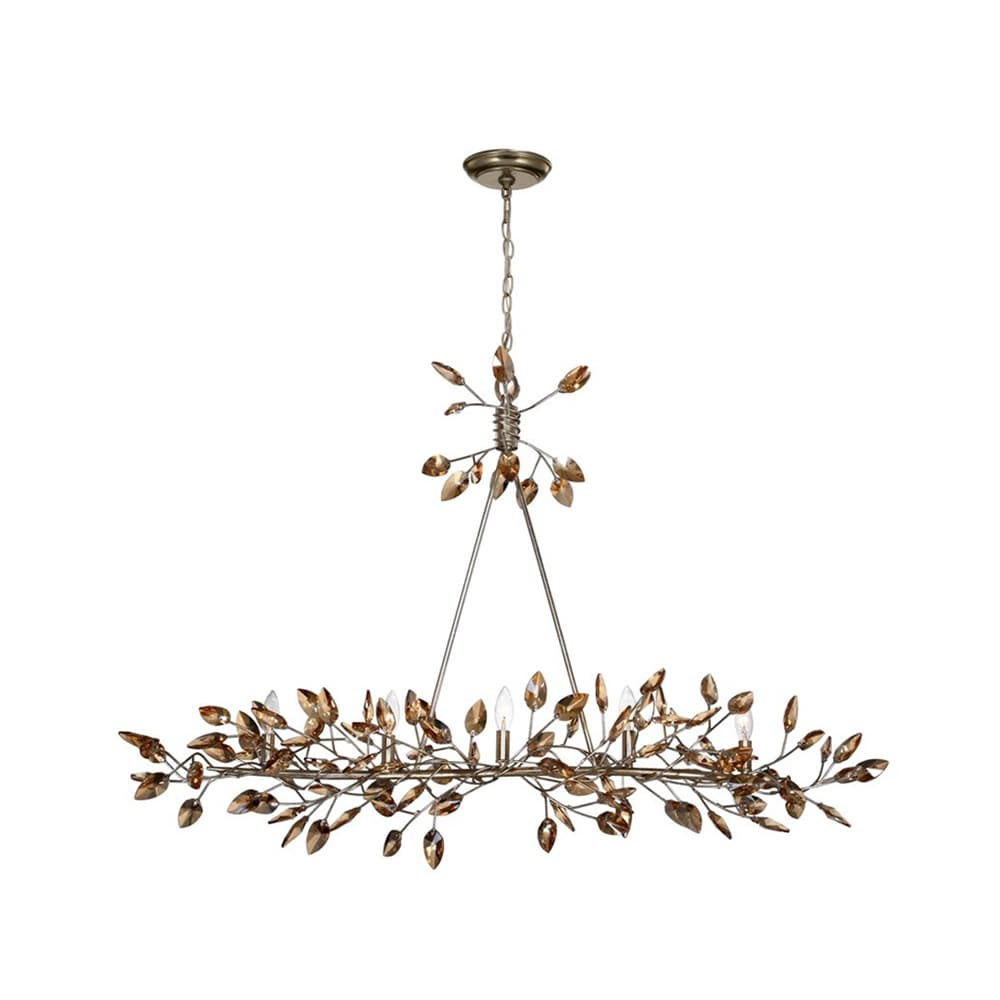 Zeev Lighting Misthaven Collection Antique Gold Finish St...