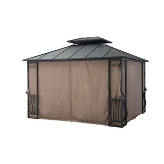 Sunjoy Universal Privacy Curtain for 10 x 12 Gazebo