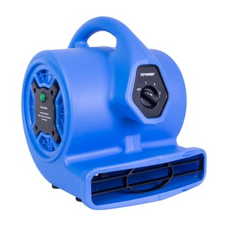 XPOWER P-150N Freshen Aire 1/8 HP 3 Speeds Scented Mini Air Mover with Ionizer