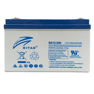 RItar Deep Cycle Pure GEL Battery 12 Volt 200Ah