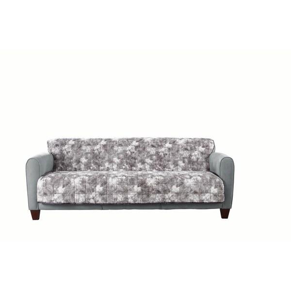 Shop Sure Fit Faux Fur Loveseat Furniture Protector Free