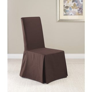 Sure Fit Twill Supreme Dining Room Chair Slipcover