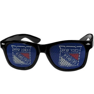 NHL New York Rangers Black Plastic Game Day Shades