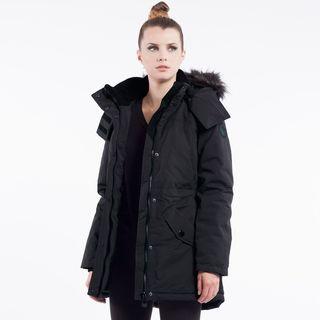 Noize 'Charlie' Women's Faux Fur-trimmed Hooded Coat