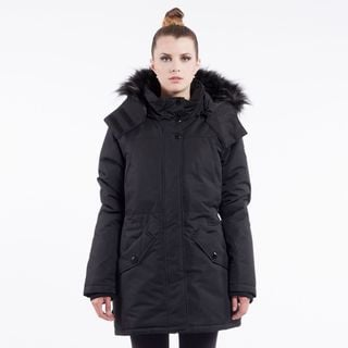 Noize 'Charlie' Women's Faux Fur-trimmed Hooded Coat