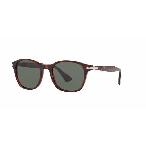 69c44df4822cf Shop Persol Mens PO3150S 24 31 Havana Plastic Square Sunglasses ...