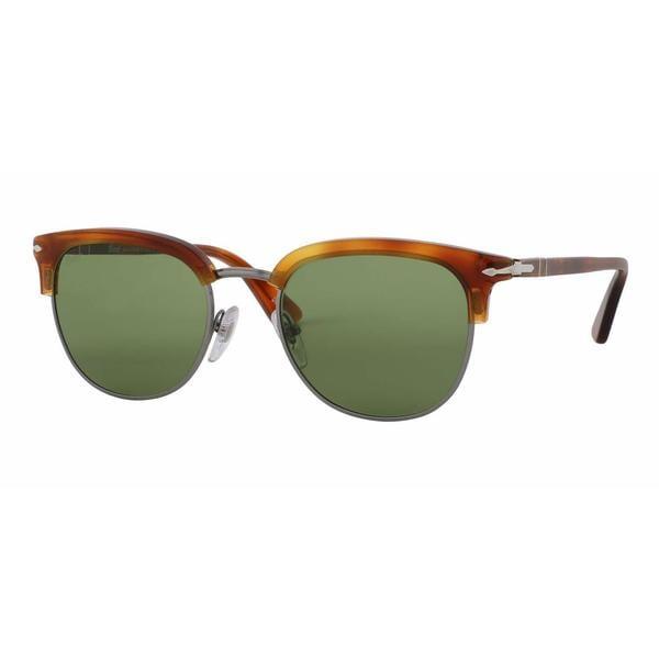 57e3cb2785759 Shop Persol Mens PO3105S 96 4E Havana Plastic Phantos Sunglasses ...