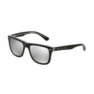 Dolce & Gabbana Mens DG4238 29906G Plastic Plastic Square Sunglasses