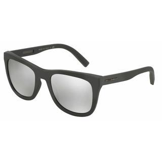 Dolce & Gabbana Mens DG2145 12676G Grey Metal Square Sunglasses