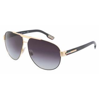 Dolce & Gabbana Mens DG2099 GYM 10818G Black Metal Cateye Sunglasses