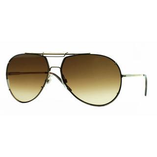 Dolce & Gabbana Mens DG2075 ICONIC EVOLUTION 034/13 Gold Metal Cateye Sunglasses