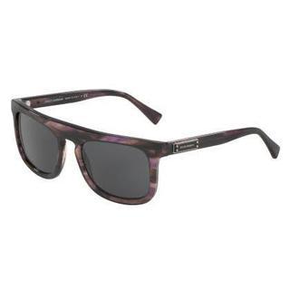 Dolce & Gabbana Mens DG4288 306487 Purple/Reddish Plastic Square Sunglasses