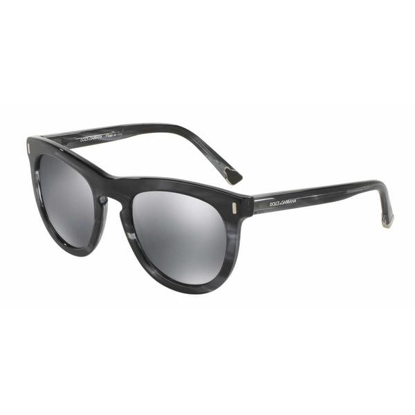 b9c4f9b3dd310 Dolce  amp  Gabbana Mens DG4281F 29246G Plastic Plastic Phantos Sunglasses
