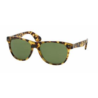 Ralph Lauren Mens RL8129P 500452 Havana Plastic Square Sunglasses