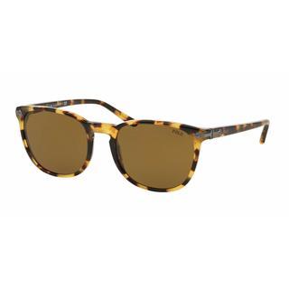 Polo Mens PH4107 500473 Havana Plastic Phantos Sunglasses