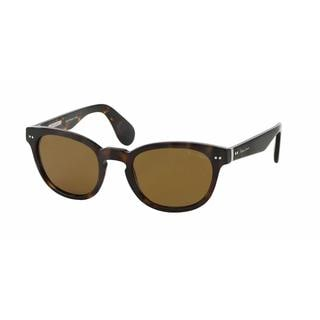 Ralph Lauren Mens RL8130P 500352 Havana Plastic Phantos Sunglasses