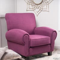 Finley Fabric Club Chair by Christopher Knight Home