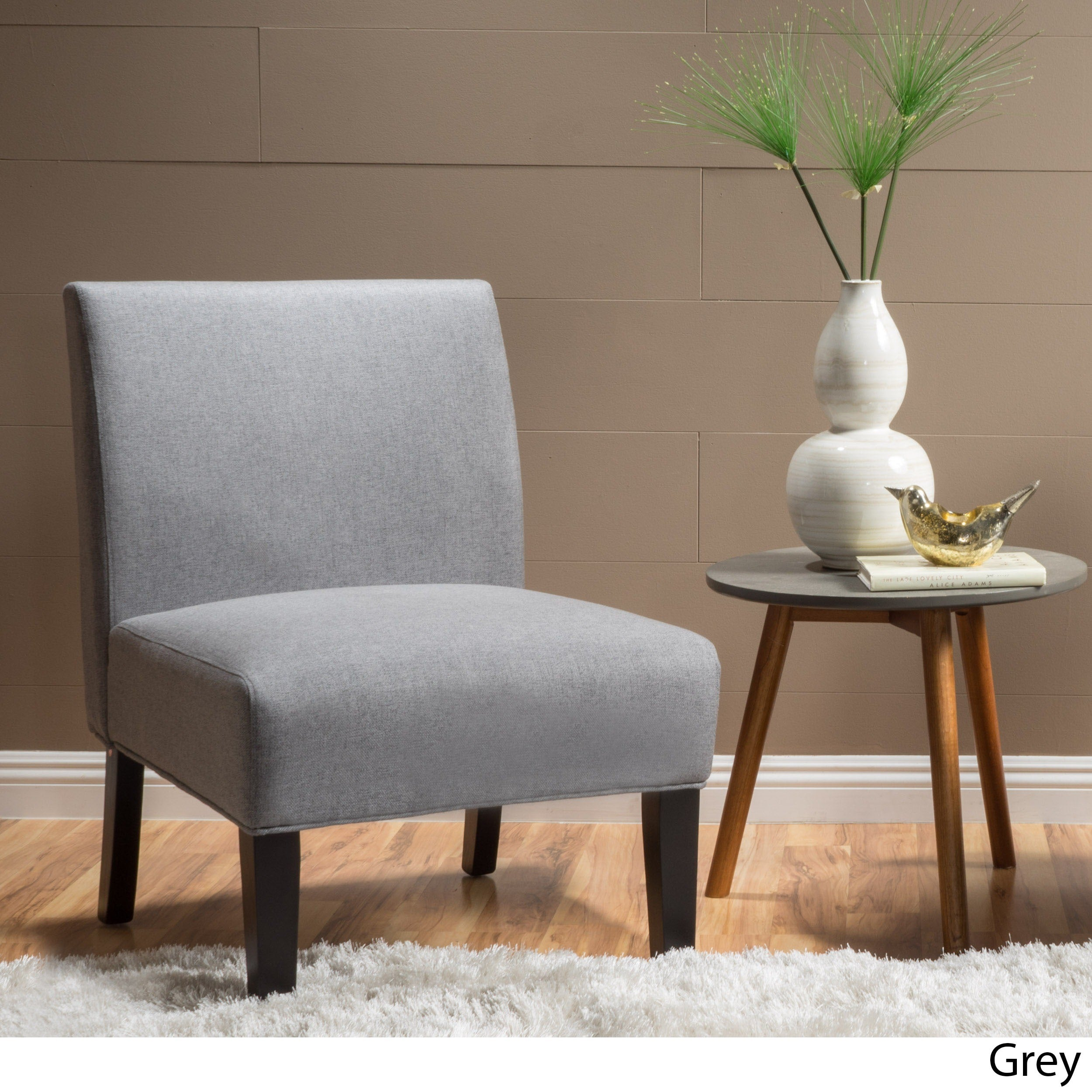 Clay Alder Home Platte Blue Fabric Accent Chair (2 Options Available)