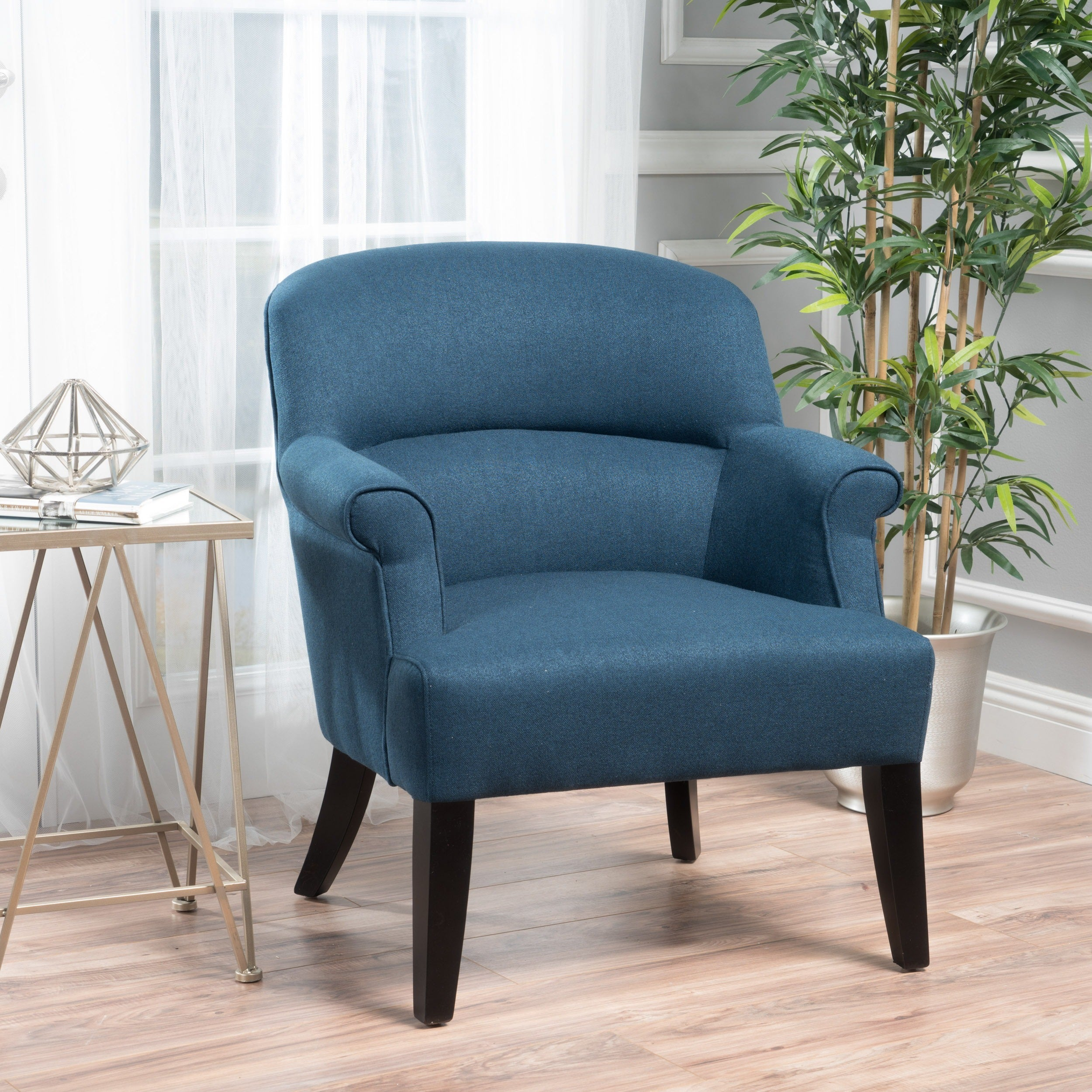 Amelie Fabric Club Chair By Christopher Knight Home