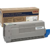 Oki Original Toner Cartridge - Yellow