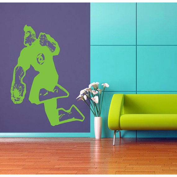 Hal Jordan decal, Superheroes decal, Superheroes stickers, Superheroes Vinyl Sticker Decall size 48x65 color black