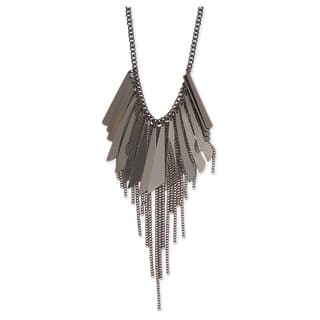 Spikes Chain Bib Necklace|https://ak1.ostkcdn.com/images/products/13473588/P20160496.jpg?impolicy=medium