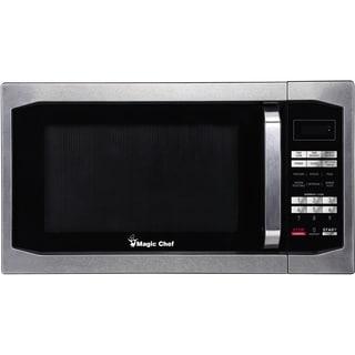 Magic Chef MCM1611 Stainless Steel 1.6 cf 1100 Watt Countertop Microwave