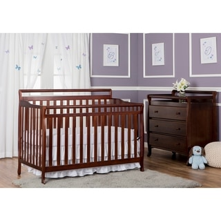 Dream On Me Liberty Espresso 4-in-1 Convertible Crib
