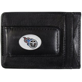 NFL Tennessee Titans Leather Cash and Cardholder